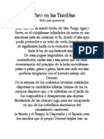 EL FARO EN LAS TINIEBLAS -POEMA FILOSÓFICO-