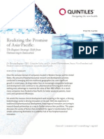 BioPharma Research Realizing Promise Asia Pacific