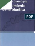 24380115 Garcia Capilla Diego Jose El Nacimiento de La Bioetica