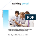 5th Itsm Industry Survey Whitepaper