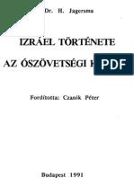 Jagersma - Izrael története 1
