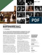 Event report - Jameson Bartenders Ball
