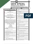 Ley 3440-08 modificación Código Penal
