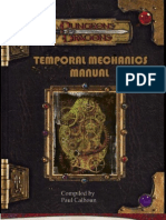 Temporal Mechanics Manual V7 by Chiscringle