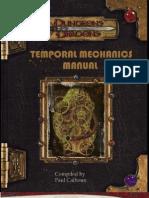 Temporal Mechanics Manual V7 by Chiscringle