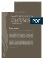 PFI Case Study on Games