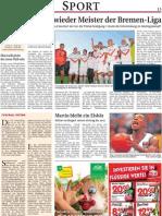 Weser Report Sport vom 25.5