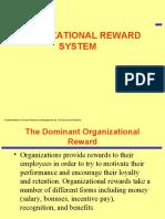 Org Reward System