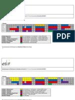 Calendário Planificação 10-11
