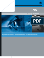 Eyewitness Police Training Manual