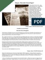 Artikel KOMPAS - Pendidikan Pancasila