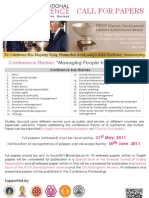 HRC2011 Call for Papers