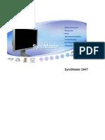 Samsung Sync Master 244T
