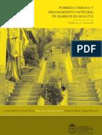Pobreza Urbana y Mejoramiento Integral de Barrios en Bogota