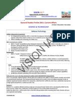 Part II Current Affairs Notes October November December Gs Prelim 2011 Vision Ias