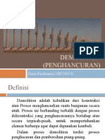 Demolition Fiaza
