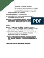 Programa de Controle Auditivo