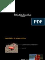 Rescate acuático