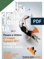 Programma Festival Felicita 2011
