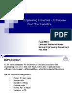 Lecture Cash Flow Evaluation New