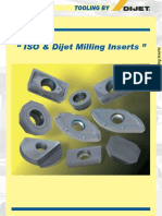 Iso Dj Milling Inserts