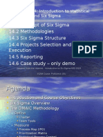 Proficience-SQAM-Module 9 Introduction to Six sigma