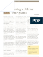 Getting a Child to Wear Glasses