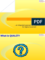 Basic Concepts of Six Sigma