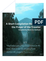 A Short Compilation Regarding the Prayer of the Traveler