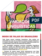 Variações Linguísticas 2011