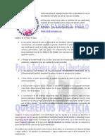 COMUNICADO MANIFESTACION 4 JUNIO REFORMA DE LA LEY DEL MENOR