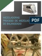Mezcladoras y Proceso de Mezclado de Balance Ado Animal