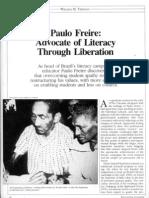 Literacy Through Liberation