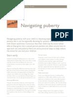 Navigating Puberty