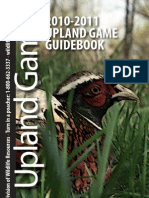 2010-11 Upland Game Guide Book