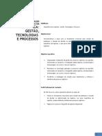 SENAC - PÓS EM LOGÍSTICA GESTÃO, TECNOLOGIAS E PROCESSOS