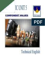 Unit 5 Component Values