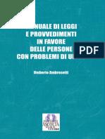 MANUALE DI LEGGI E PROVVEDIMENTI IN FAVORE DELLE PERSONE CON PROBLEMI DI UDITO