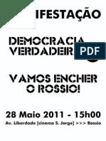 Cartaz Manifestação 28M