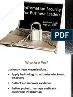 Information Security for Business Leaders Presentation