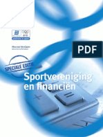 Sportvereniging en Financien