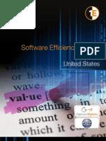 Software Efficiency Report-US 2011