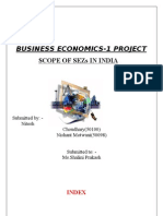 Project Report on SEZ