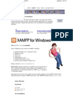 Installing Xampp Windows