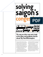 Solving Saigon's Congestion Question
