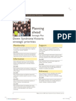 Planning Ahead - Strategic Plan
