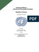 Energy profile for Kenya (2006)