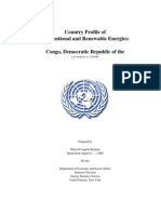 Energy profile for Congo (Democratic Republic)