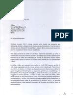 Carta a Ministra de Educación sobre abanderados de 7mo básica (Ecuador)