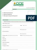Admission Form (MBA)[1]